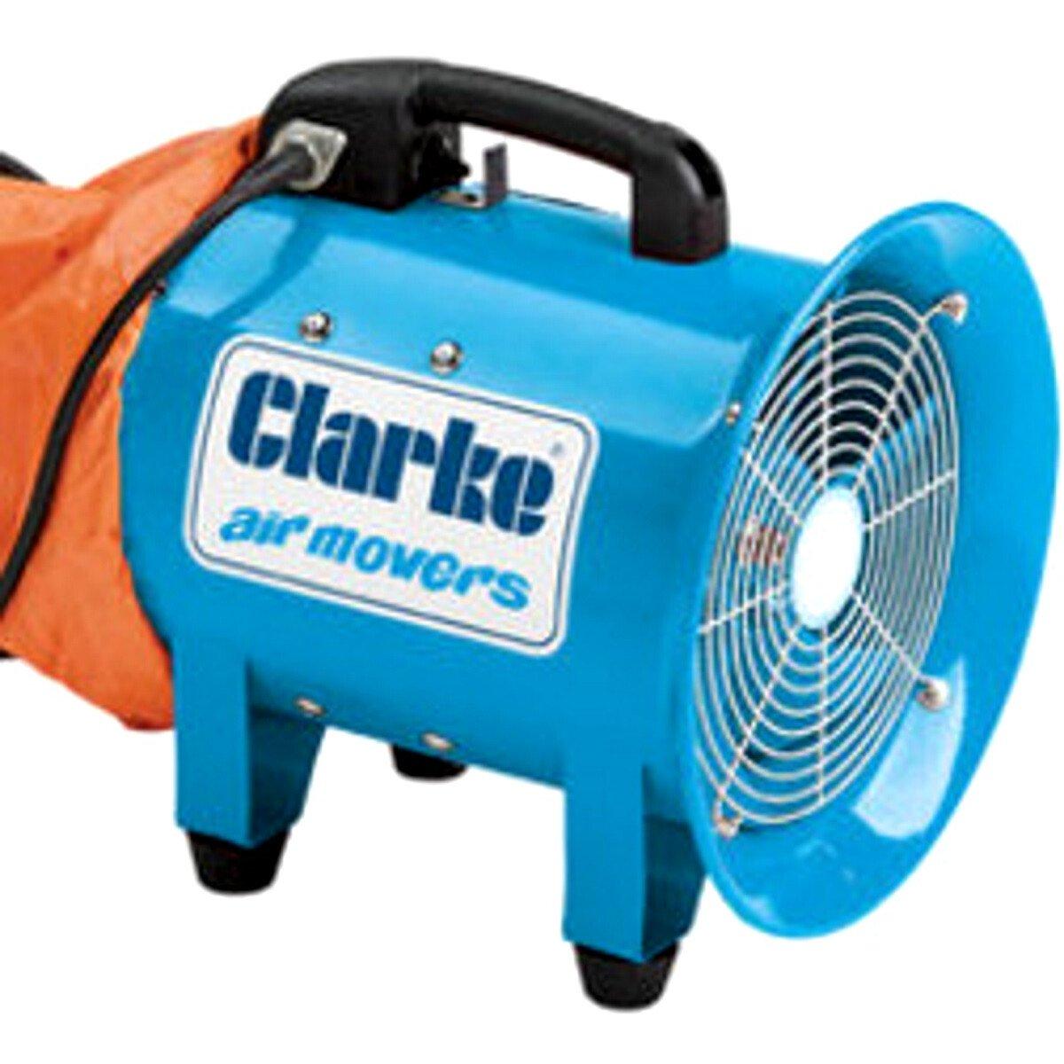 """Clarke  CAM300B 12"""" Portable Ventilator Air Mover 230V 3230462"""
