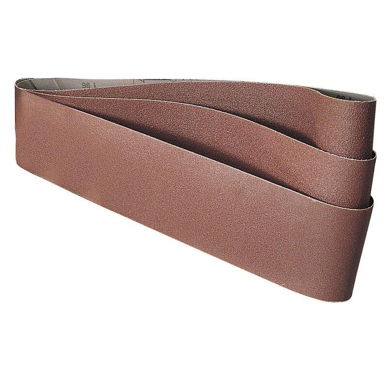 Draper 36075 SB436C 100 x 915mm Assorted Abrasive Sanding Belts Pack of 3