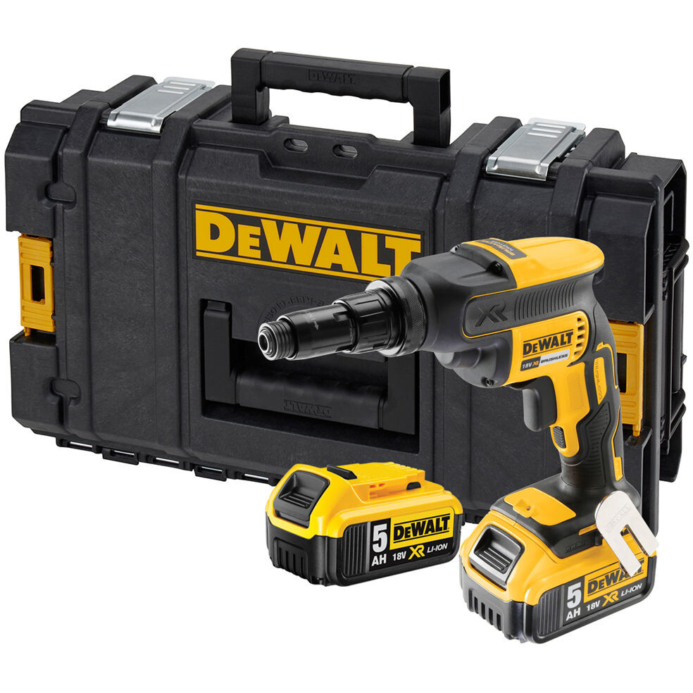 DeWalt DCF622P2-GB 2x5.0Ah Li-Ion 18V Self Drilling TEK Screwdriver Kit