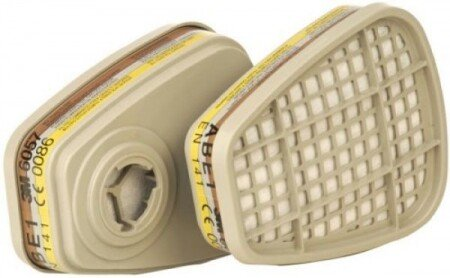 3M 6057 ABE1 Gas Filter / Particulate Filter (Pair)