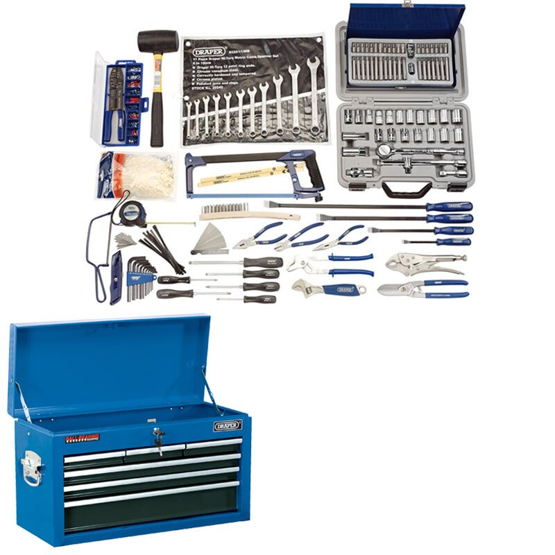 Draper 50104 Workshop Tool Chest Kit (A)