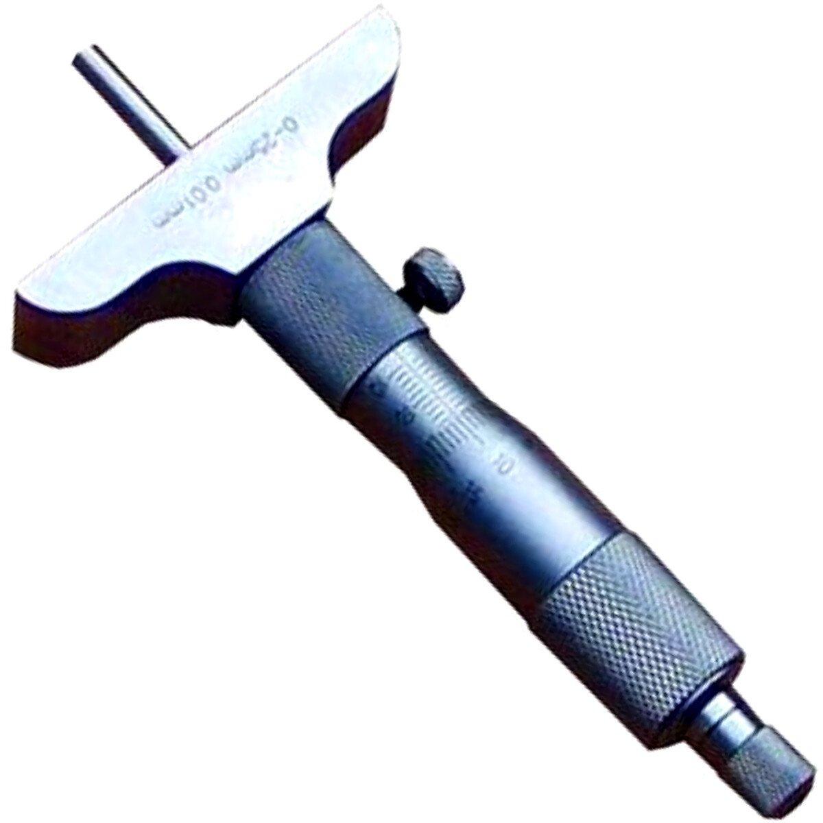 Linear Tools 50-175-006 Depth Micrometer DIN 863 – 0-6″