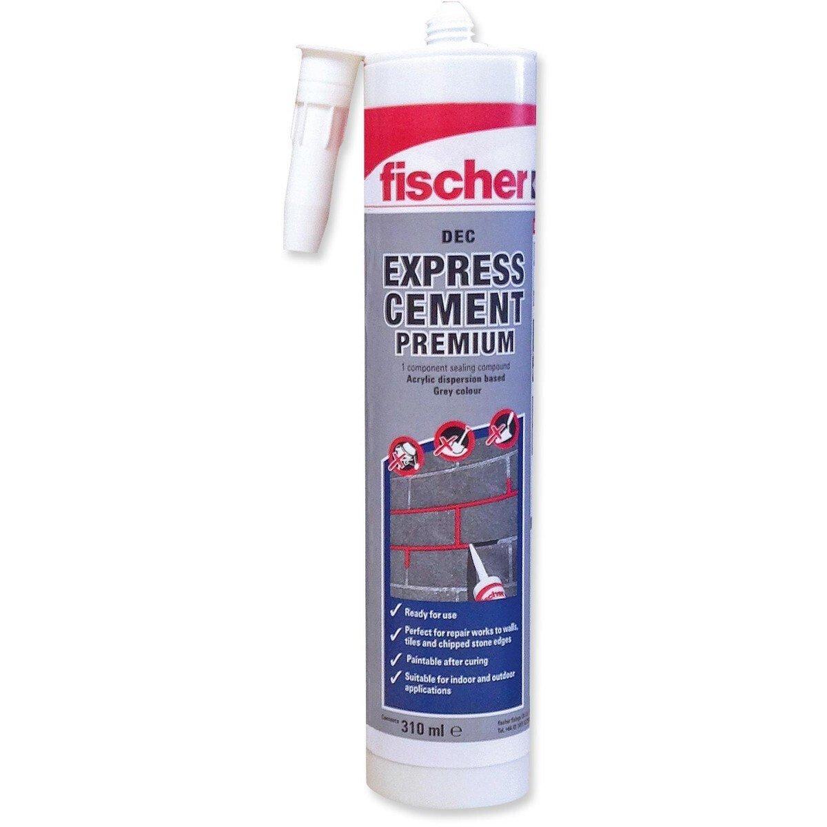Fischer 523856 Express Cement 310ml Grey