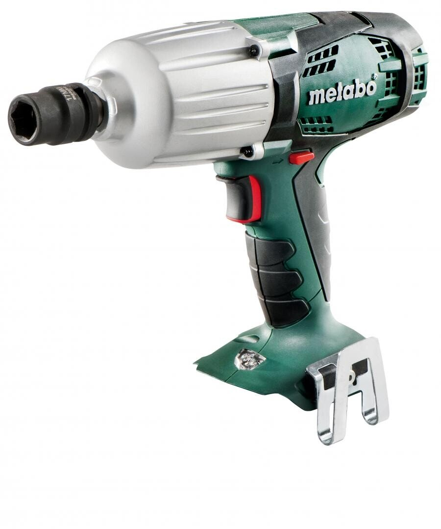 Metabo SSW18LTX600 Body Only 18V High Torque Impact Wrench in Metaloc Carry Case