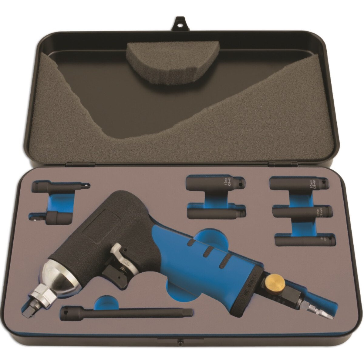 Laser 6035 Air Impact Glow Plug Removal Kit 9 Piece
