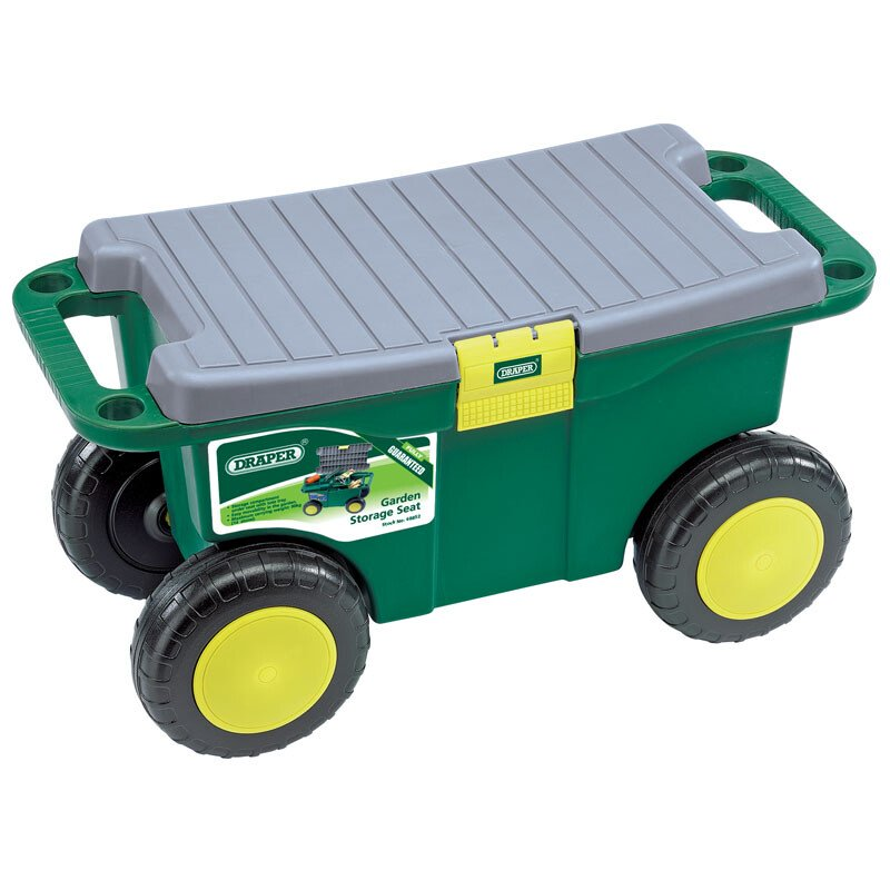 Draper 60852 GRT/DD Gardeners Tool Cart and Seat