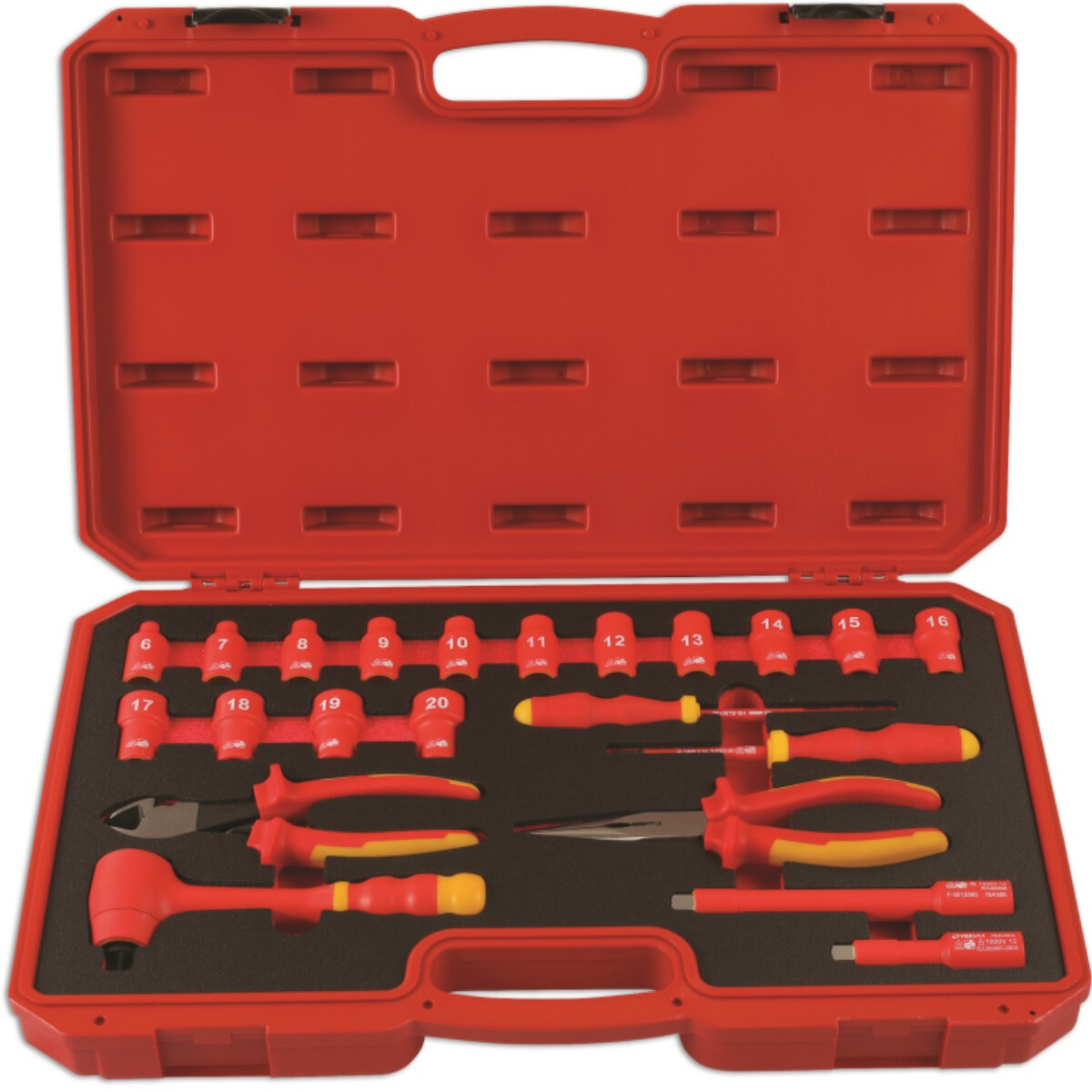 """Laser 6146 Insulated Tool Kit 3/8"""" Drive 22 Piece"""