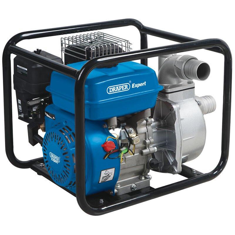 Draper 64065 PWP52 500 L/Min 4.8HP 4 Stroke Petrol Water Pump (50mm)