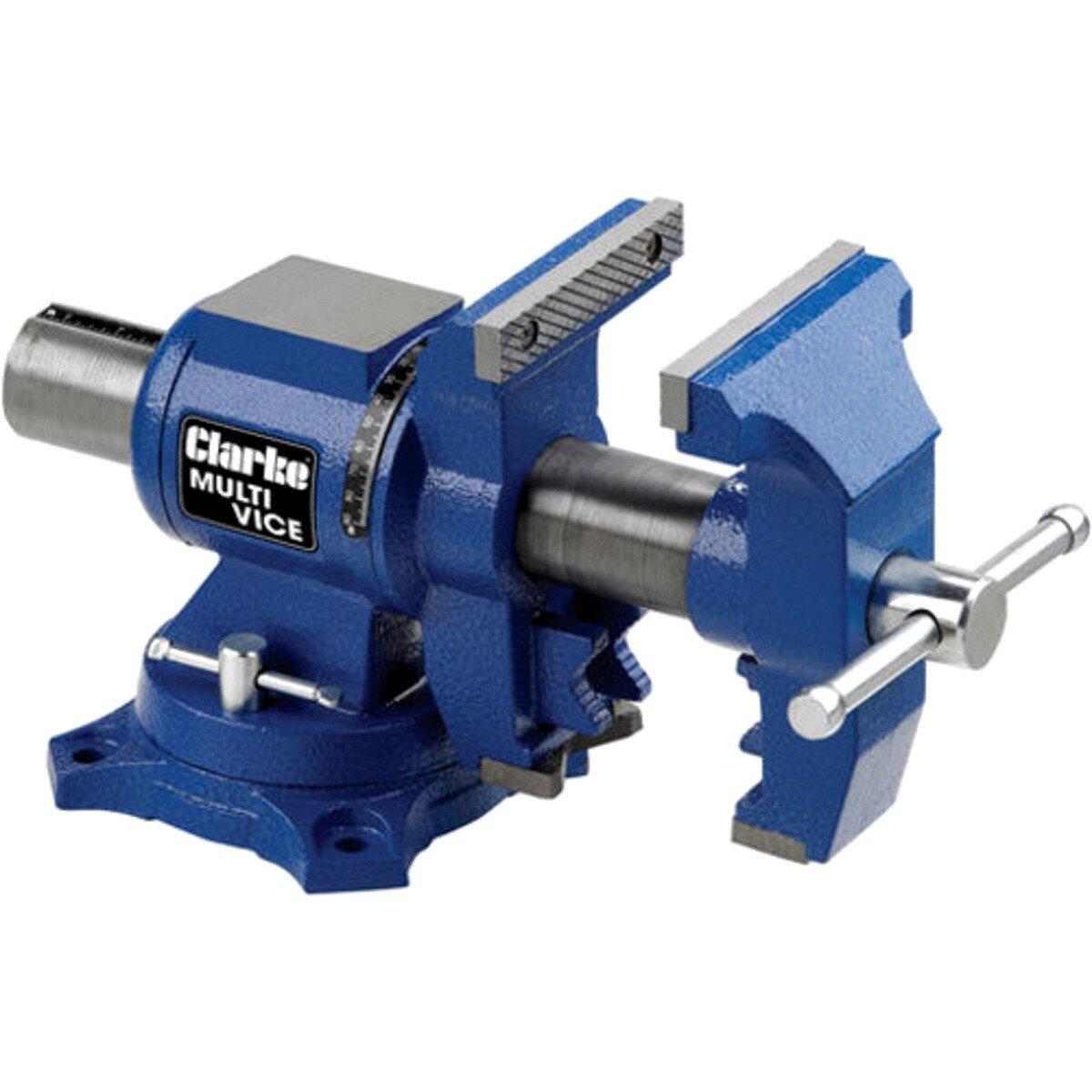"Clarke CMV125B Multi-Purpose 125mm (5"") Cast Iron Vice 6501971"