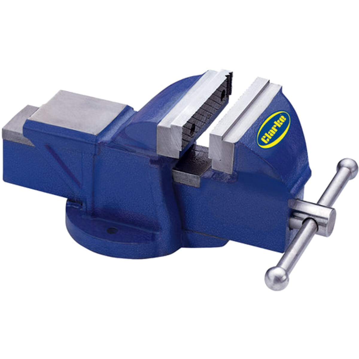 Clarke CV125BL 125mm Fixed Base Bench Vice 6504100