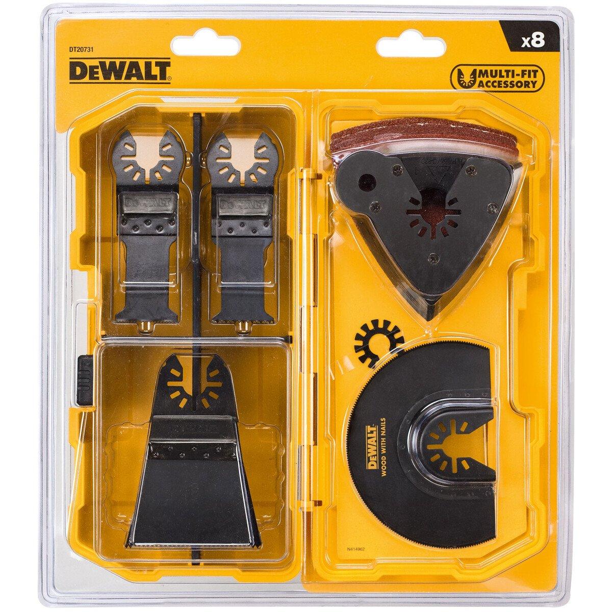 DeWalt DT20731-QZ Multi Tool Blade Set 8 Piece