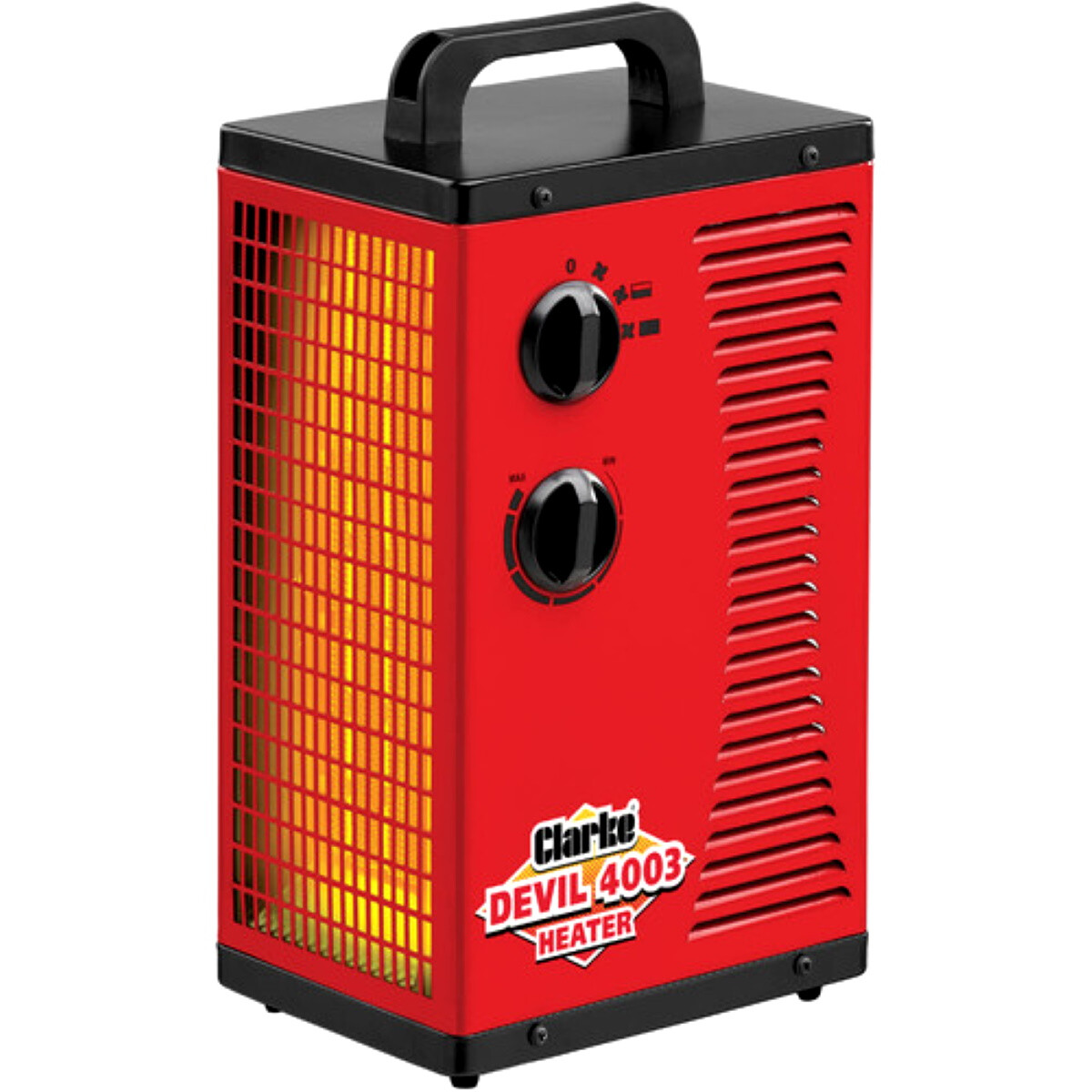 Clarke Devil 4003 2.8kW Workshop PTC Fan Heater 6925128