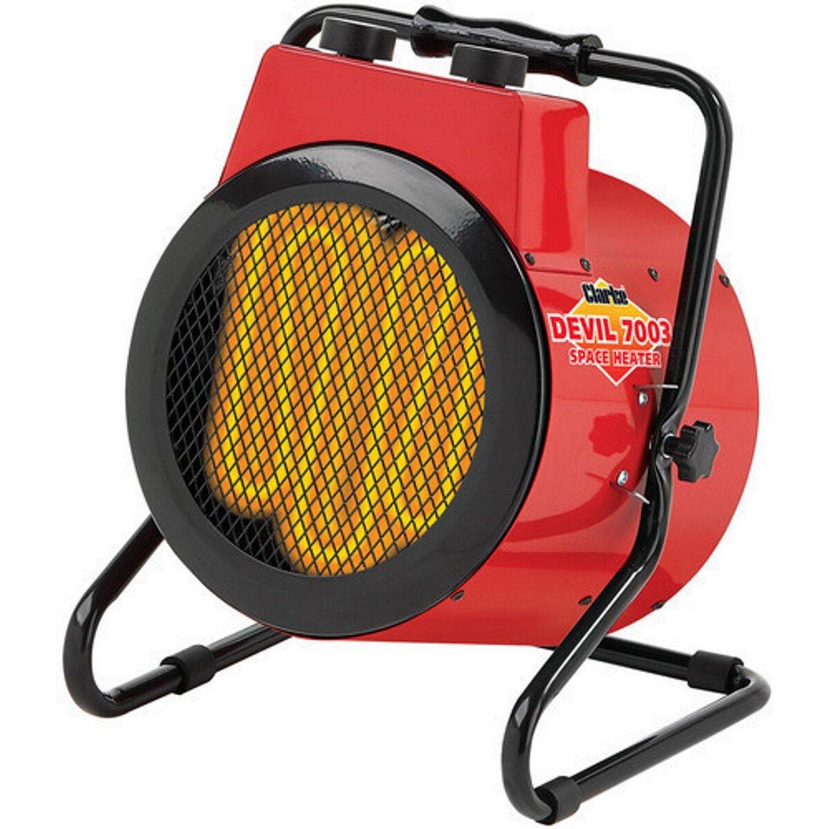 Clarke Devil 7003 3kW Industrial Electric Fan Heater 6935450