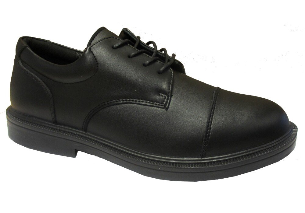 Forma 5070 Executive Apron Black Leather Safety Shoe