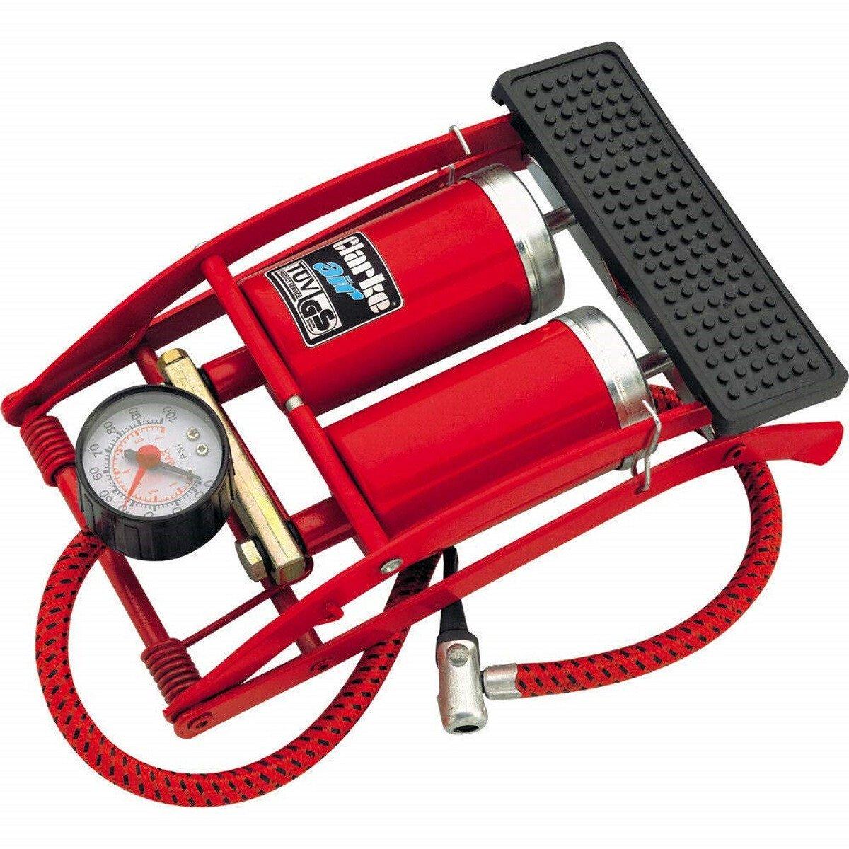 Clarke FP200 Twin Barrel Foot Pump 7640260
