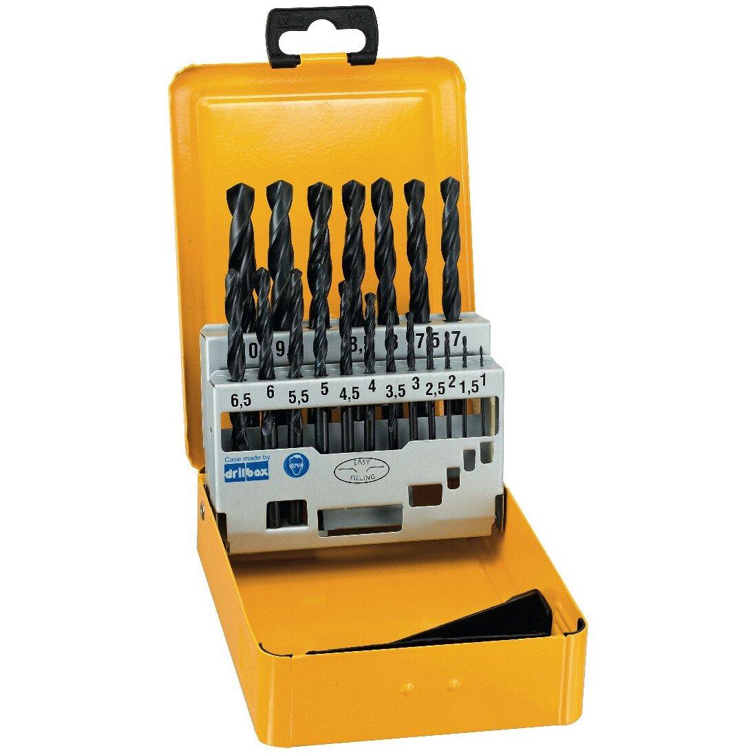 DeWalt DT5913-QZ HSS-R DIN 338 Jobber Drill Bit Sets 19pc