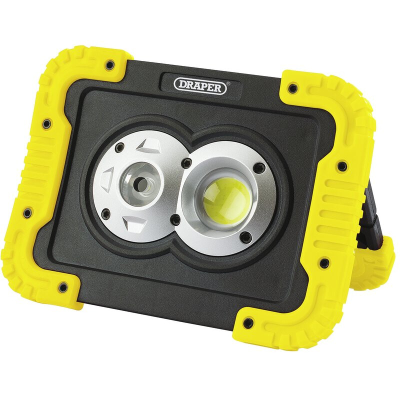 Draper 87696 Twin 10 W COB rechargeable rechargeable