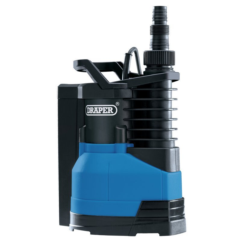 Draper 98917 SWP150IFS 230V 400W Submersible Water Pump with Integrated Float Switch