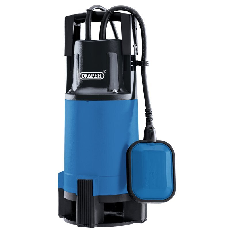 Draper 98920 SWP220 110V 750W Submersible Dirty Water Pump with Float Switch