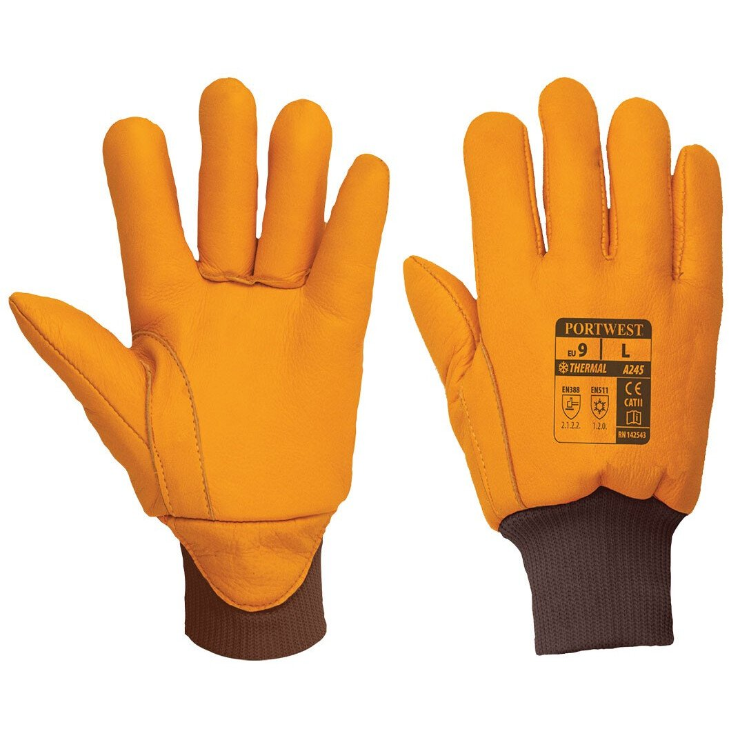 Portwest A245 Antarctica Insulatex Glove - Thermal Protection Gloves - Tan