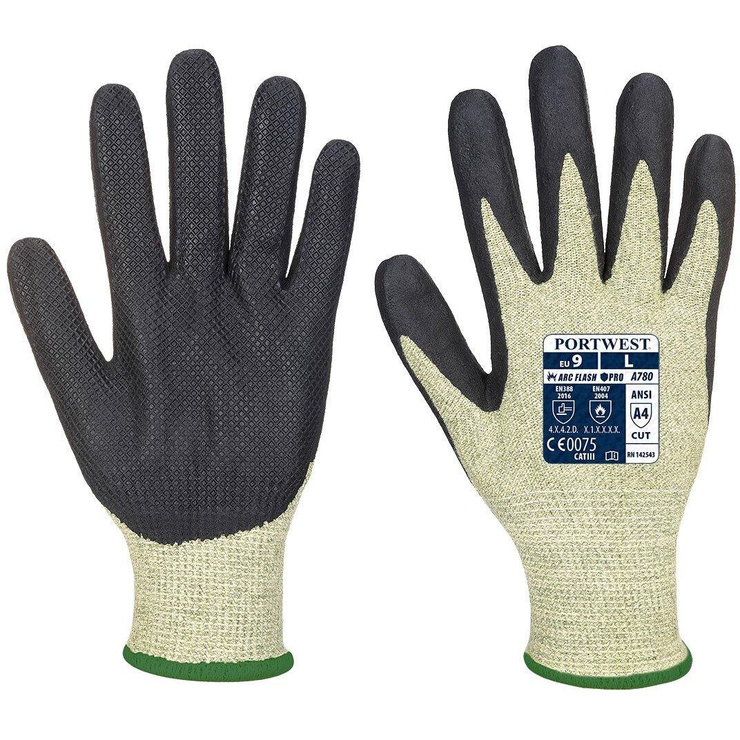 Portwest A780 Arc Grip Specialist Gloves - Green/Black