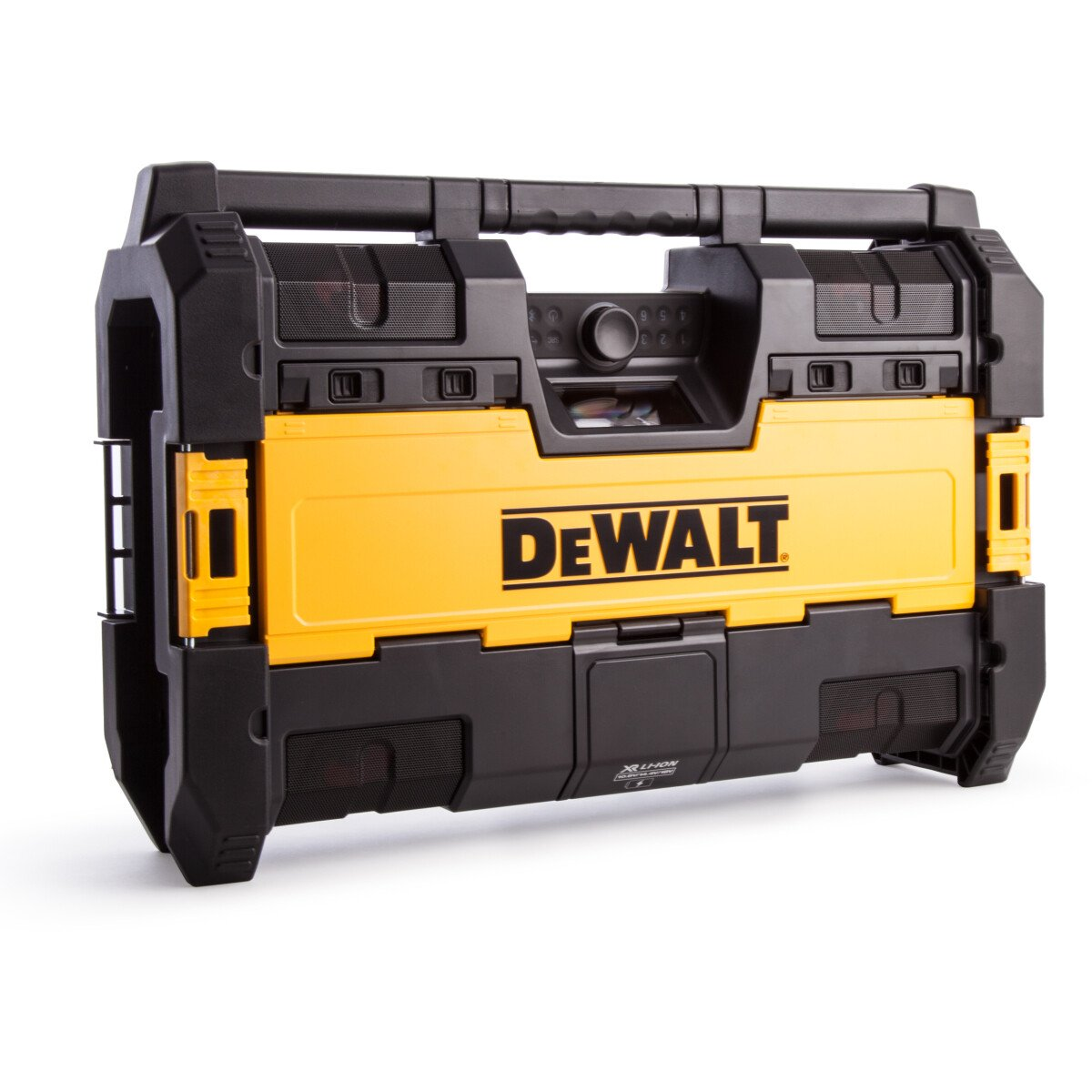 Dewalt DWST1-75663 Body Only Toughsystem Radio DAB+ with 6 Speakers, Bluetooth and USB