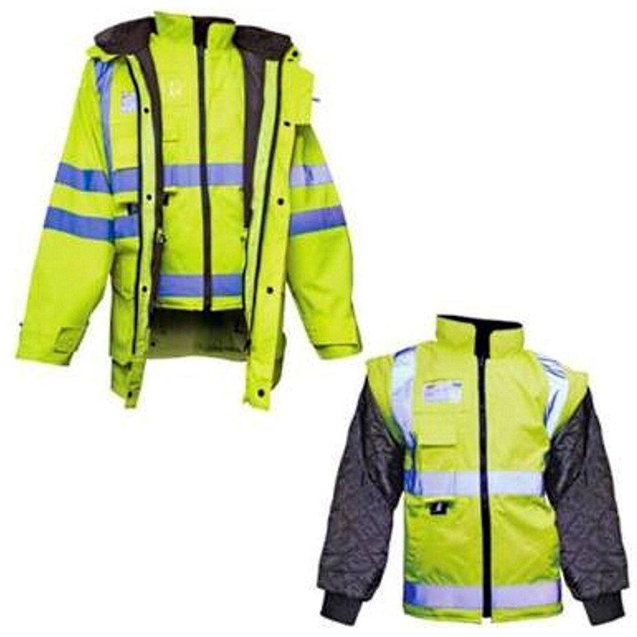 JSP ACE610 Hi Vis Multi-Option Jacket / Body Warmer