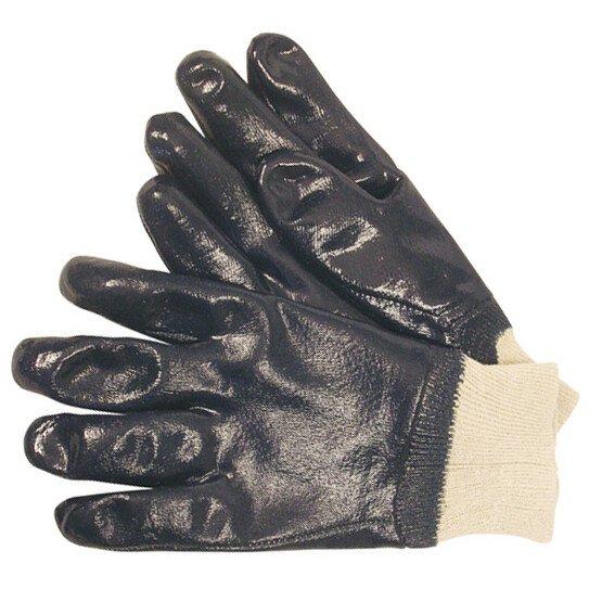 JSP ACG276-4J0-500 Heavyweight Blue Nitrile Gloves Size 9