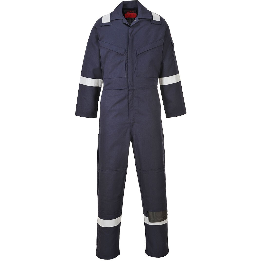 Portwest AF53 FR Araflame Gold Coverall Flame Resistant - Available in Orange or Navy Blue