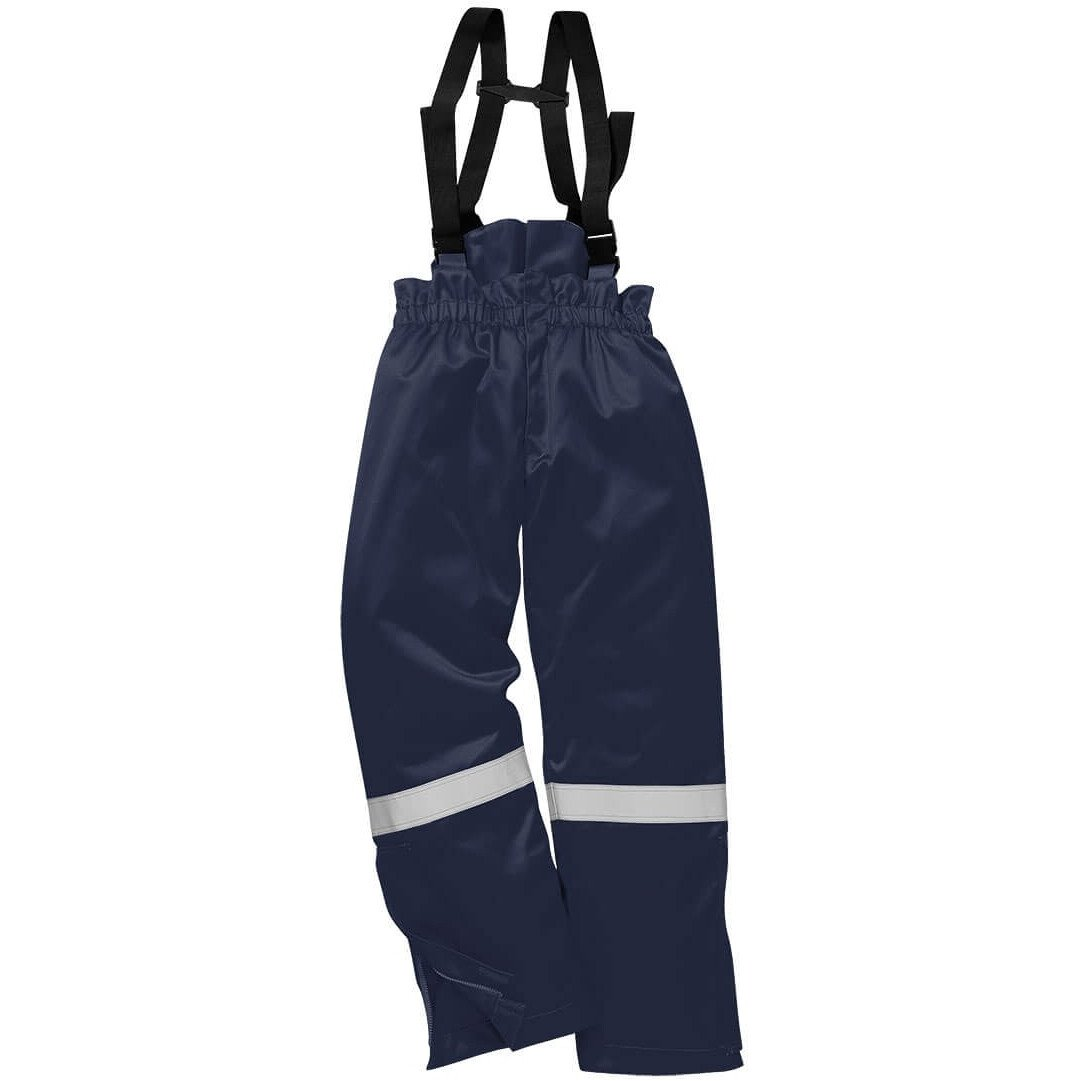 Portwest AF83 Araflame Plus Insulated Flame Resistant Salopettes - Available in Navy Blue or Orange