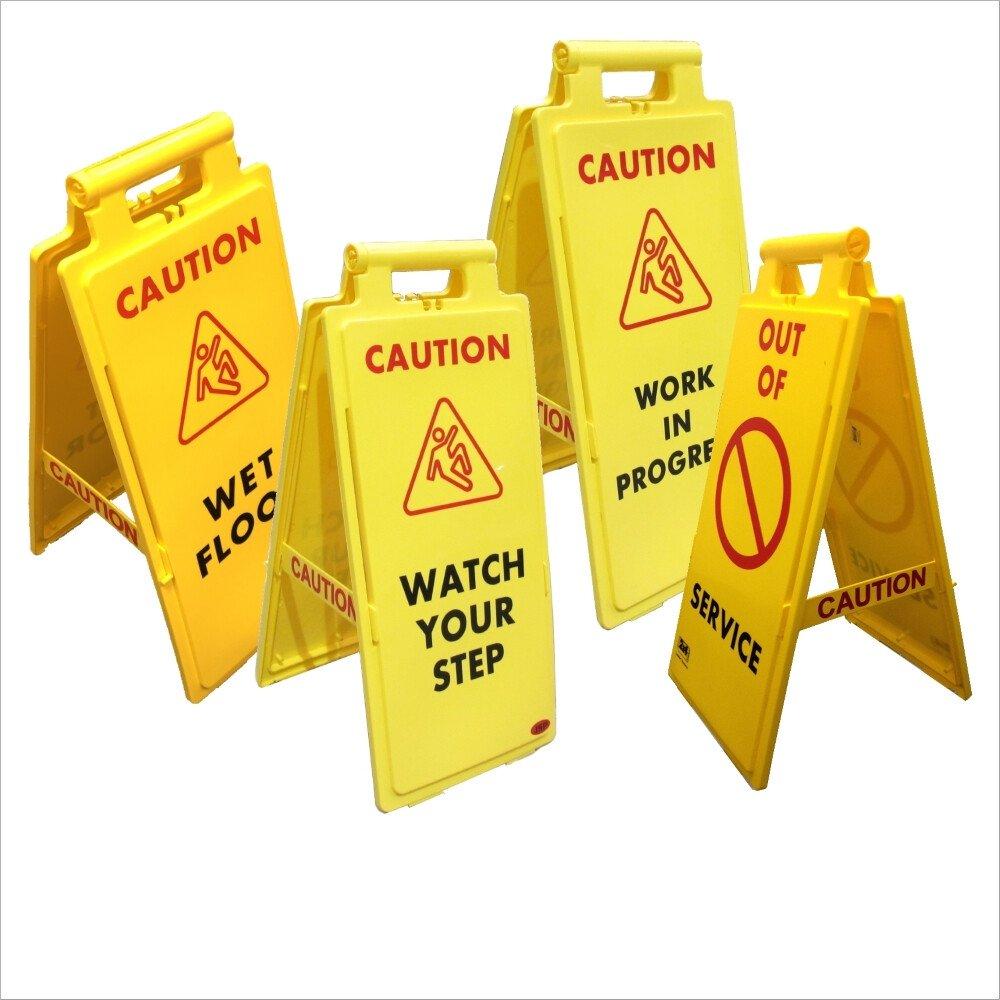 A-Frame Safety Warning Sign