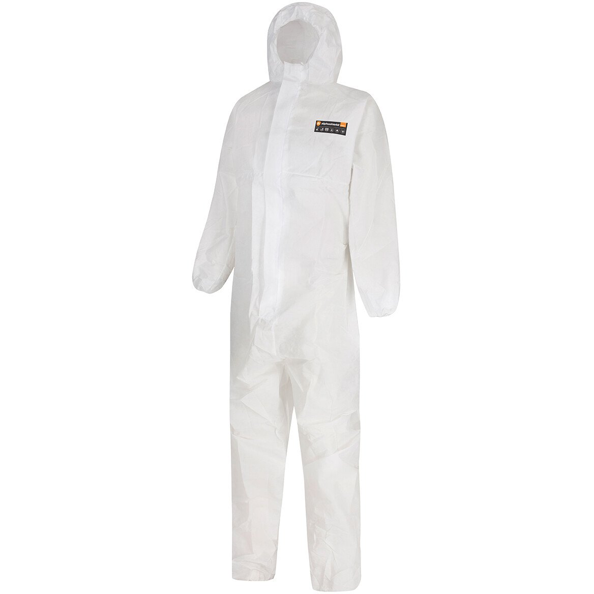 Alphashield 2000+ Disposable Coverall Category 3 Type 5 and 6, EN368 , ASTM F1670