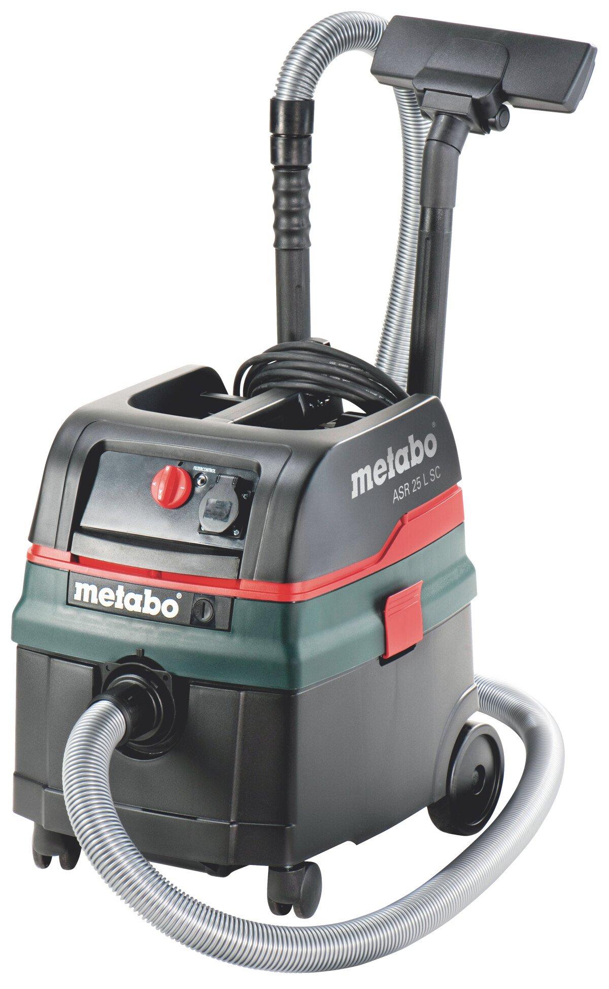 Metabo Ex Demo ASR25LSC 110v 1400 Watt Multi-Purpose Vacuum Cleaner (+ Auto Take Off) Replaces ASR2025
