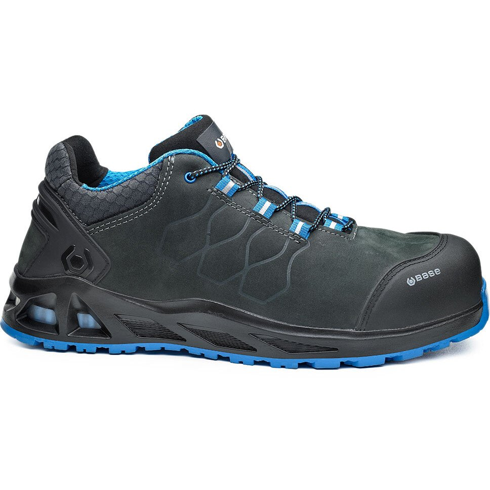 Portwest Base B1000 Kaptiv K-Road Safety Shoe - Grey/Blue