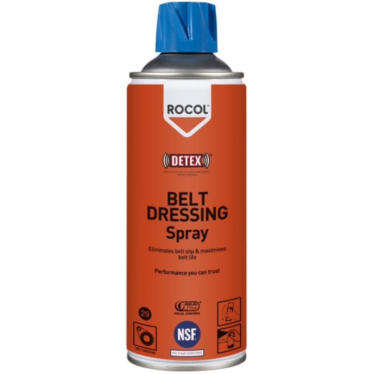 Rocol 34295 Belt Dressing Spray (NSF Registered) 300ml