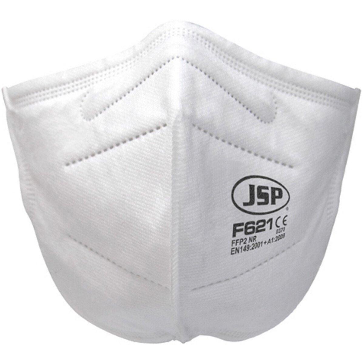 JSP BGV120-000-Q00 Disposable Vertical Fold Flat Mask FFP2 (F621) (Single Mask)