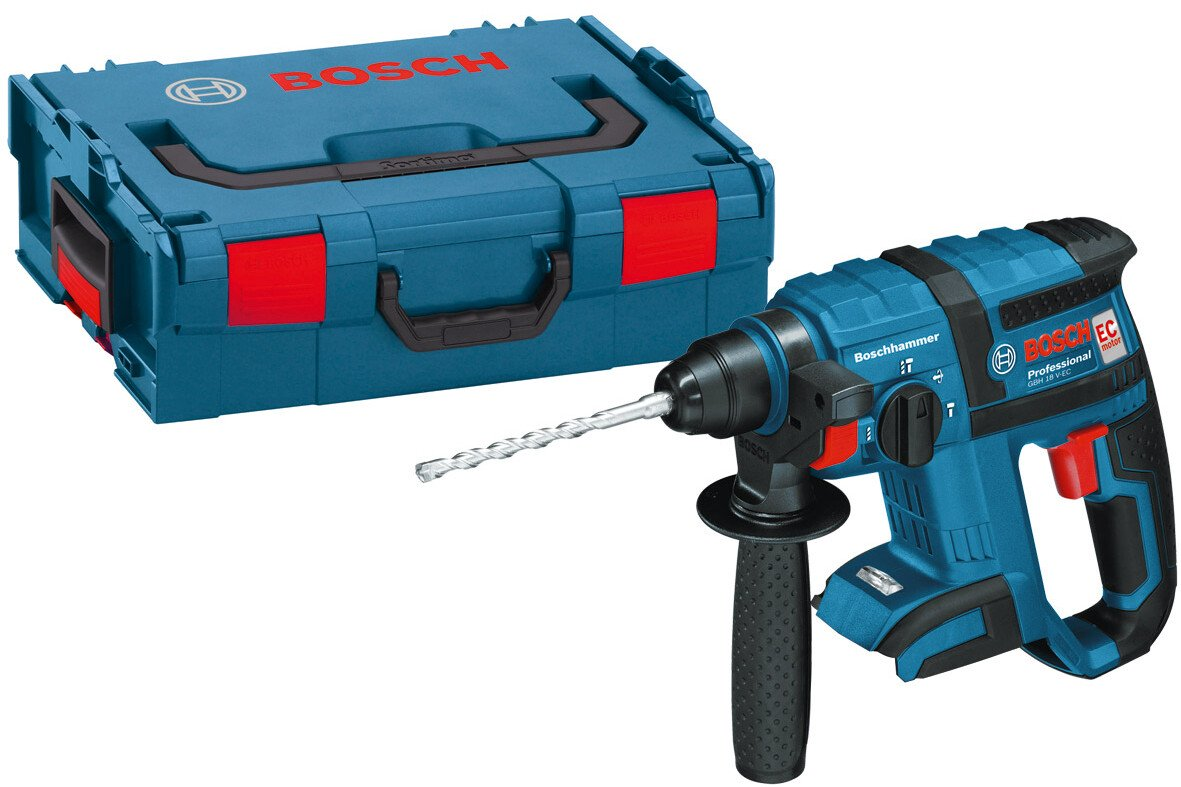 Bosch GBH18VECLBOXX Body Only 18V Brushless SDS+ Hammer Drill in L-Boxx