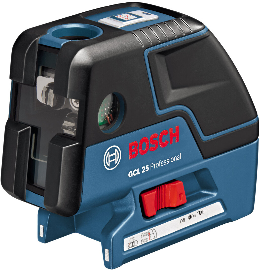 bosch gcl 25 cross line combi laser level 5 point from lawson his