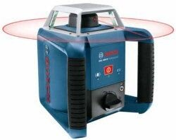 Bosch GRL400H SET 400m Professional Rotary Laser level + LR1 Compact in Tri case