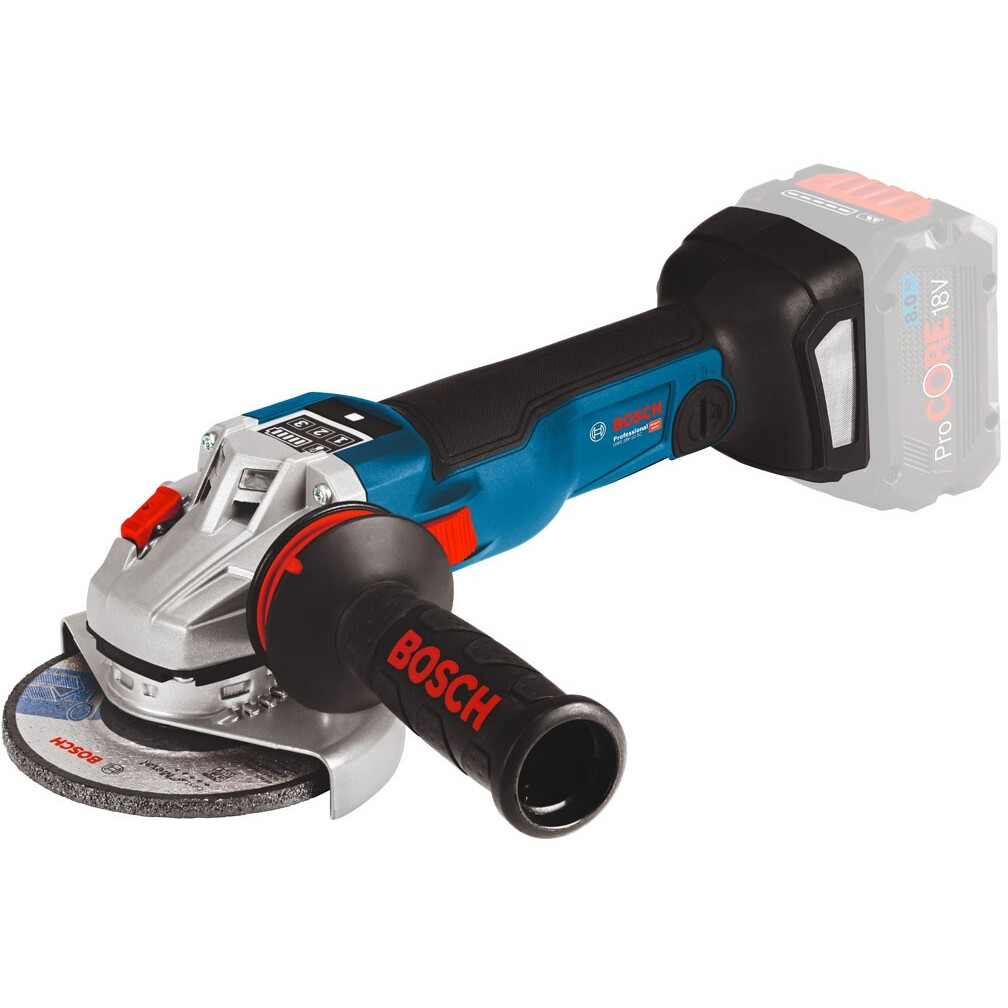"""Bosch GWS 18 V-10 C 18v Body Only 4.1/2""""/115mm  Connection Ready Angle Grinder in Carton"""