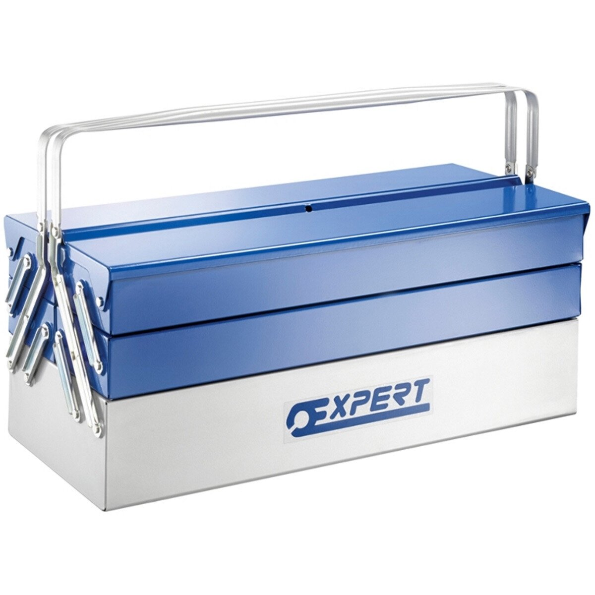 Britool E194738 Metal Cantilever Toolbox 5 Tray 45cm BRIE194738B