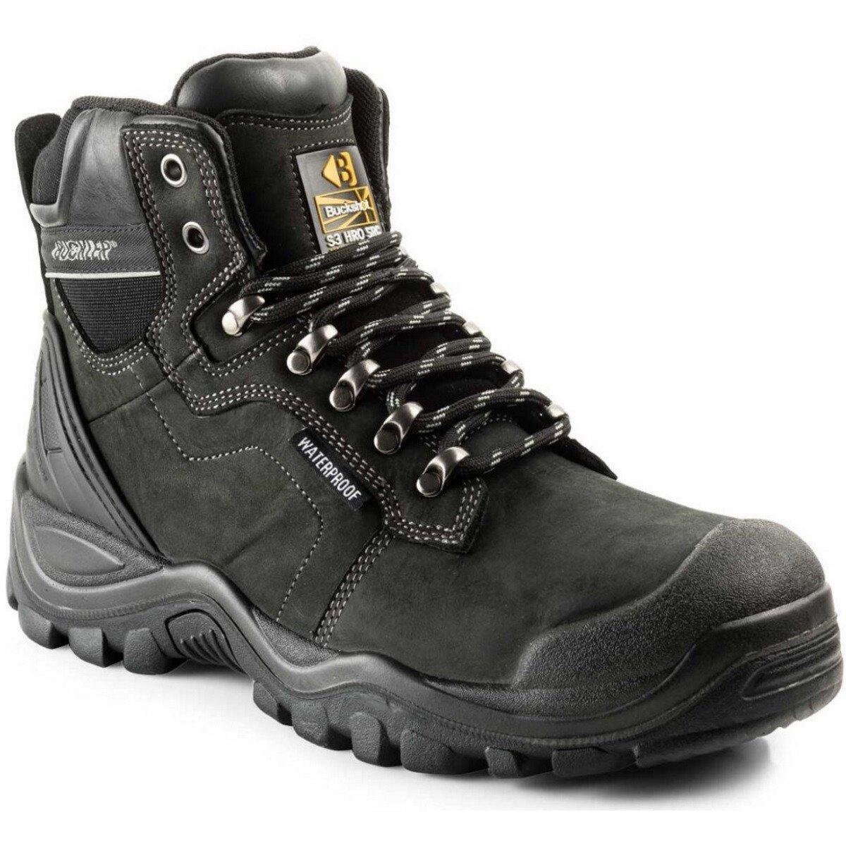 Buckler Boots BSH009WP Buckshot 2 Leather S3 Safety Lace Boot HRO WRU SRC