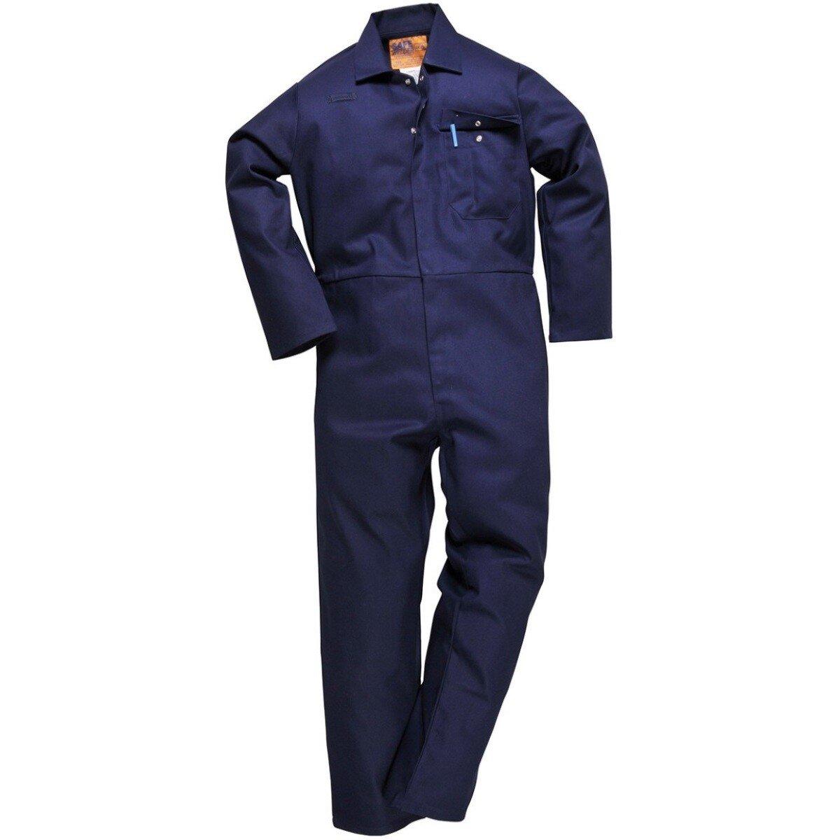 Portwest C030 Flame Retardant CE Safe Welder Coverall Boiler Suit