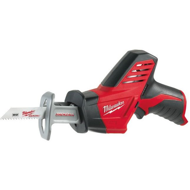 Milwaukee C12HZ-0 Body Only 12v Compact Cordless Reciprocating Saw Hacksaw