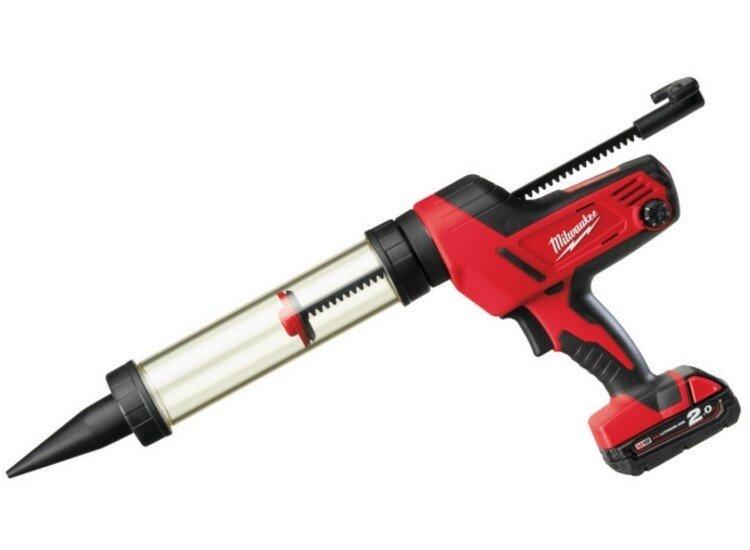 Milwaukee C18PCG400 18v Li-ion Cordless Caulking Gun 400ml +KITBAG