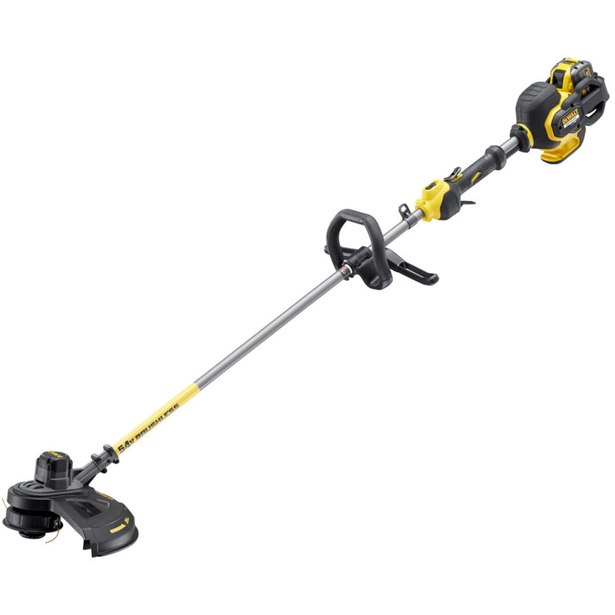 DeWalt DCM571X1-GB 54V  XR Flexvolt Brush Cutter with 1x 9.0Ah Battery