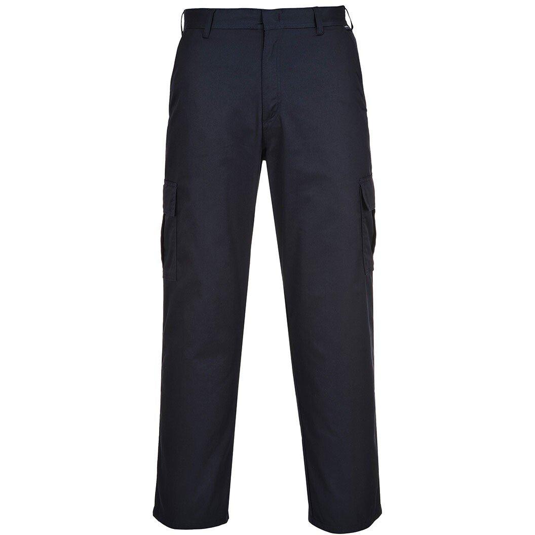 "Portwest C701 (28"" Waist, 32"" Leg) Combat Trouser Multipocket Workwear - Navy Blue - Clearance Size"