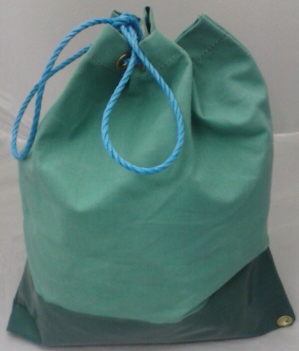 "Lawson-HIS ENG535-LGE 'Refinery' Large Green Duffle Tool Bag 21"" x 17"""