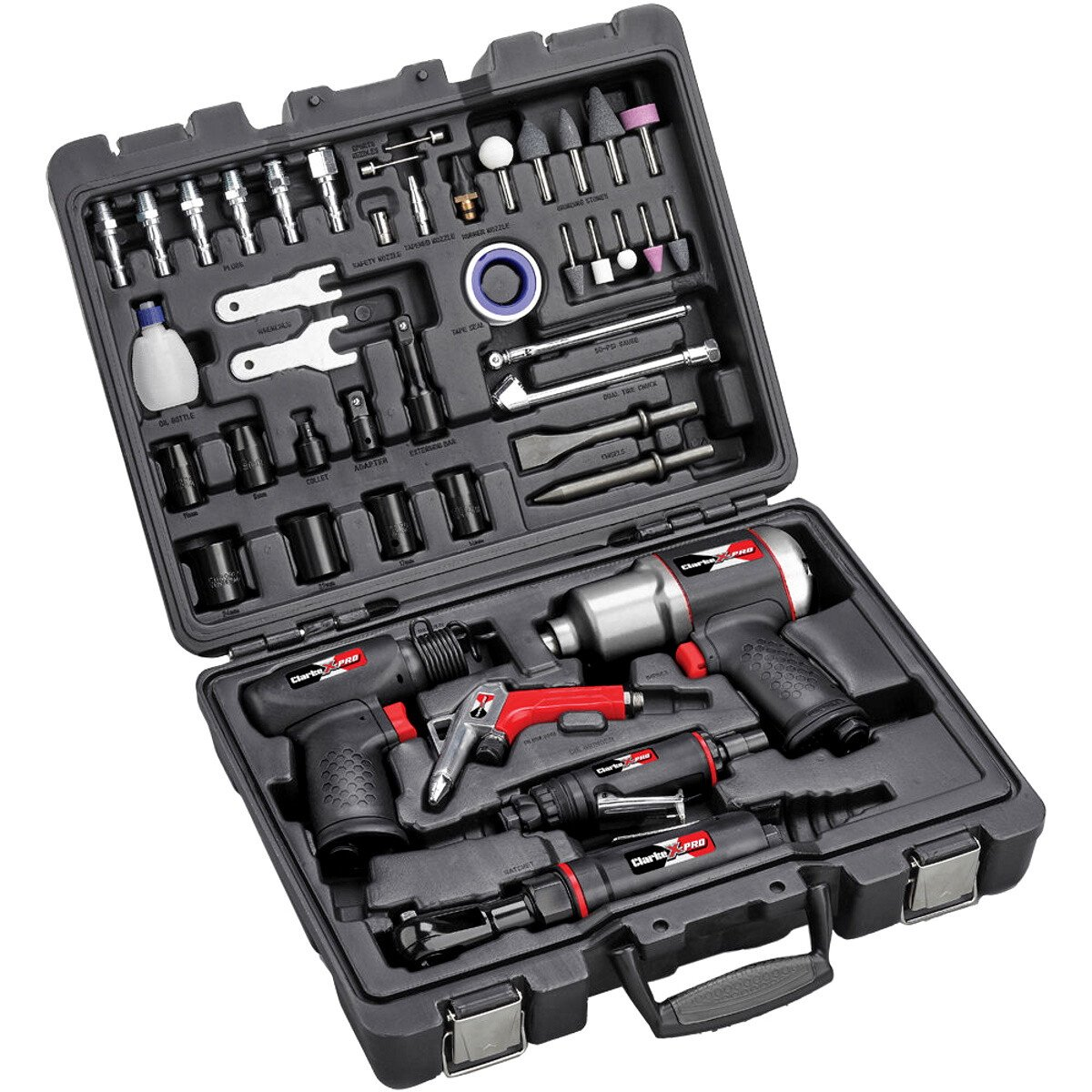 Clarke CAT202 X-Pro 44 Piece Composite Body Air Tool Kit 3120519