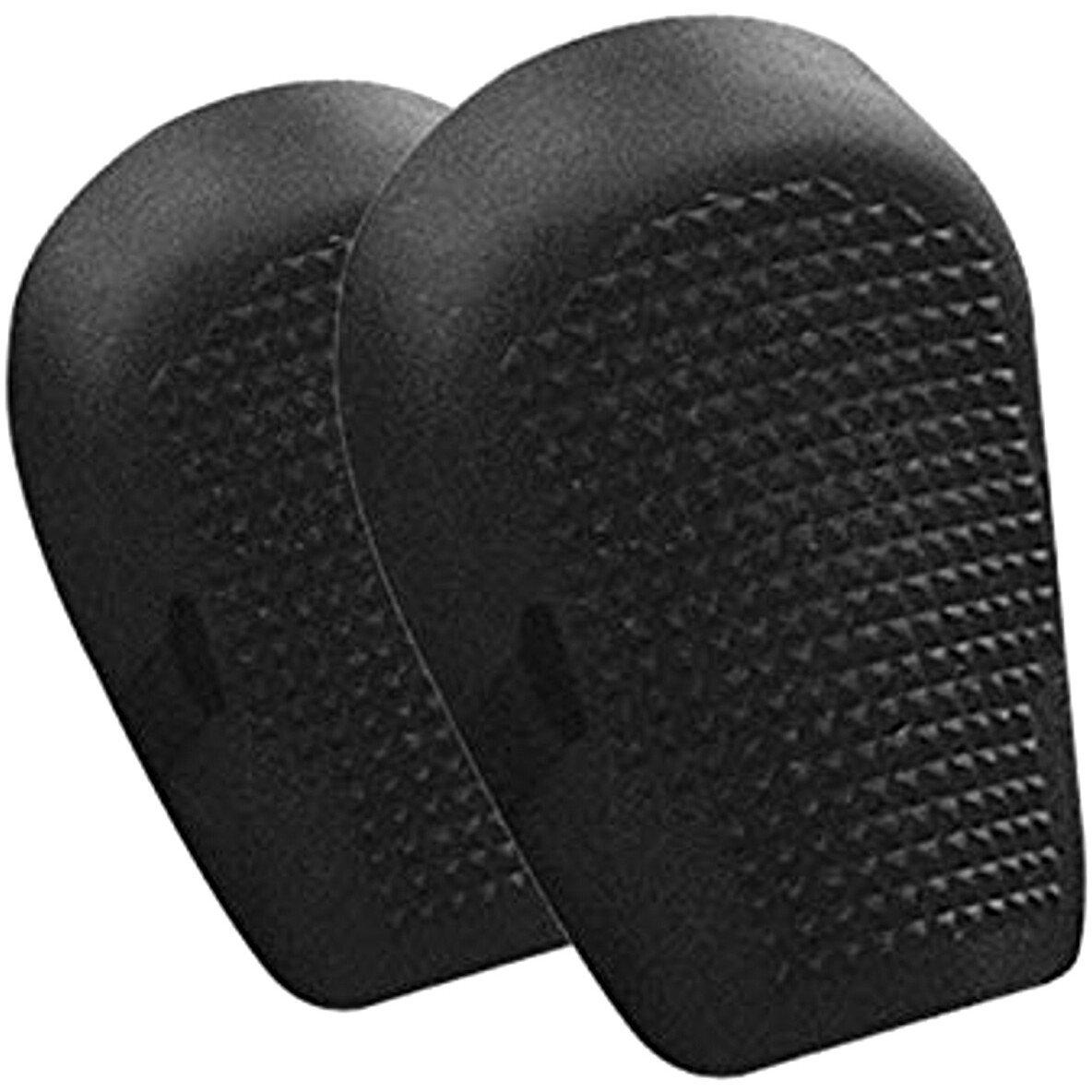JSP ACU150-011-000 Flexible Black Rubber Knee Pads Pair